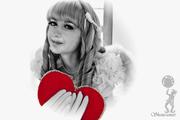 Подарок в День Святого Валентина! Живая открытка - Ангелочек!