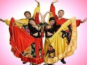 Шоу-балет,  певцы,  ведущие на праздник. Театр песни