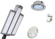 Светодиодные светильники продажа и установка