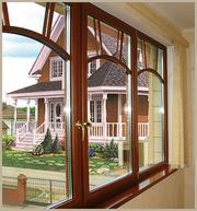 Пластиковые окна,  деревянные и алюминиевые со скидкой