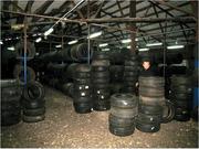 Легковые и грузовые б/у шины ОПТОМ  из Германии