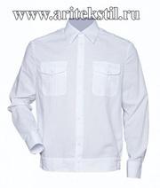 рубашка сорочки для кадетов с длинными короткими рукавами
