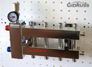 Коллектор отопления. Гидрострелки Gidruss