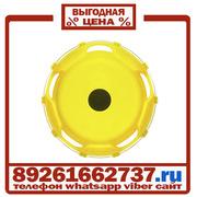 Колпаки колёсные 22.5 задние пластик желтые в Москве