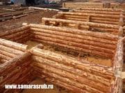 Сруб Самара. Деревянные дома,  бани,  срубы. Срубы из Удмуртии.